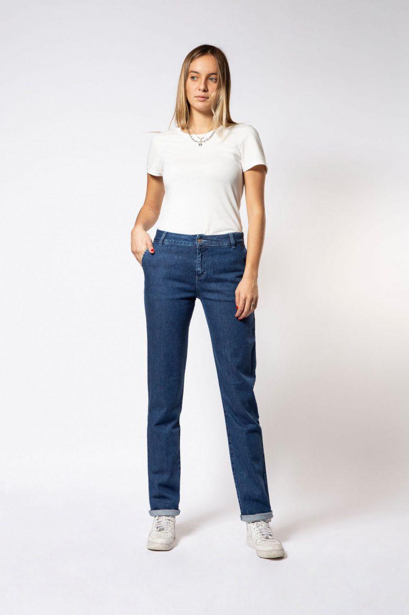 Fior di Loto Straight Jeans