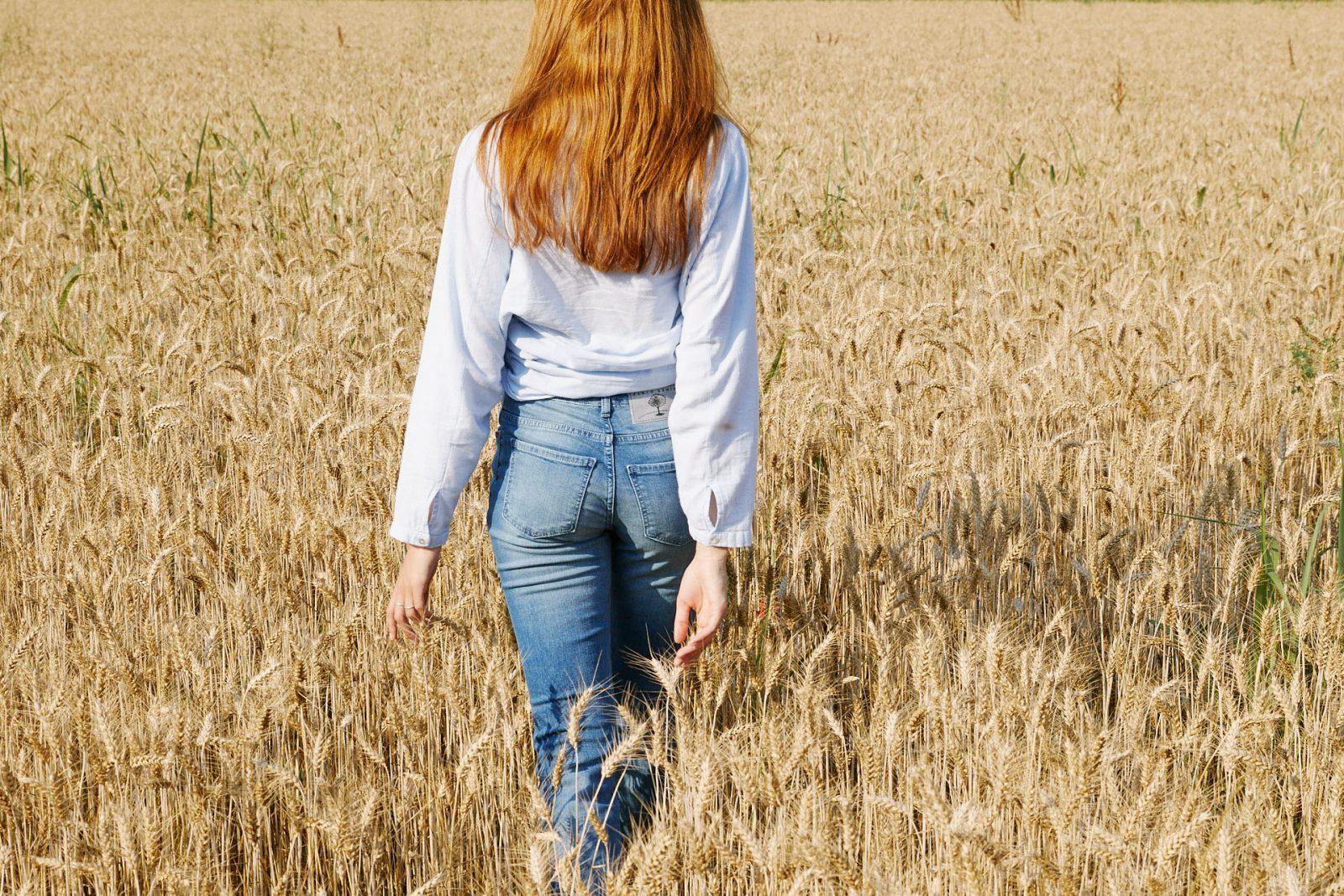 la cura dei jeans